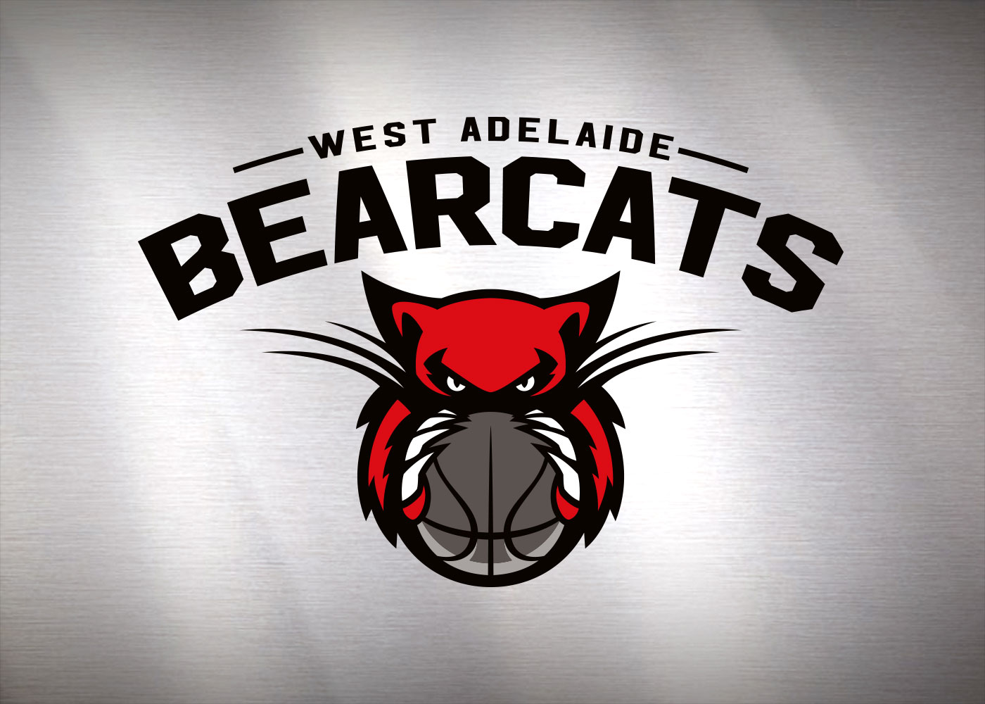 West Adelaide Bearcats - Primary logo