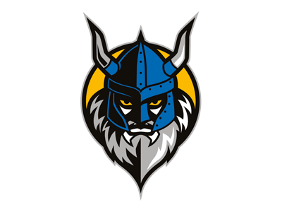 Sports logo design - Vikings