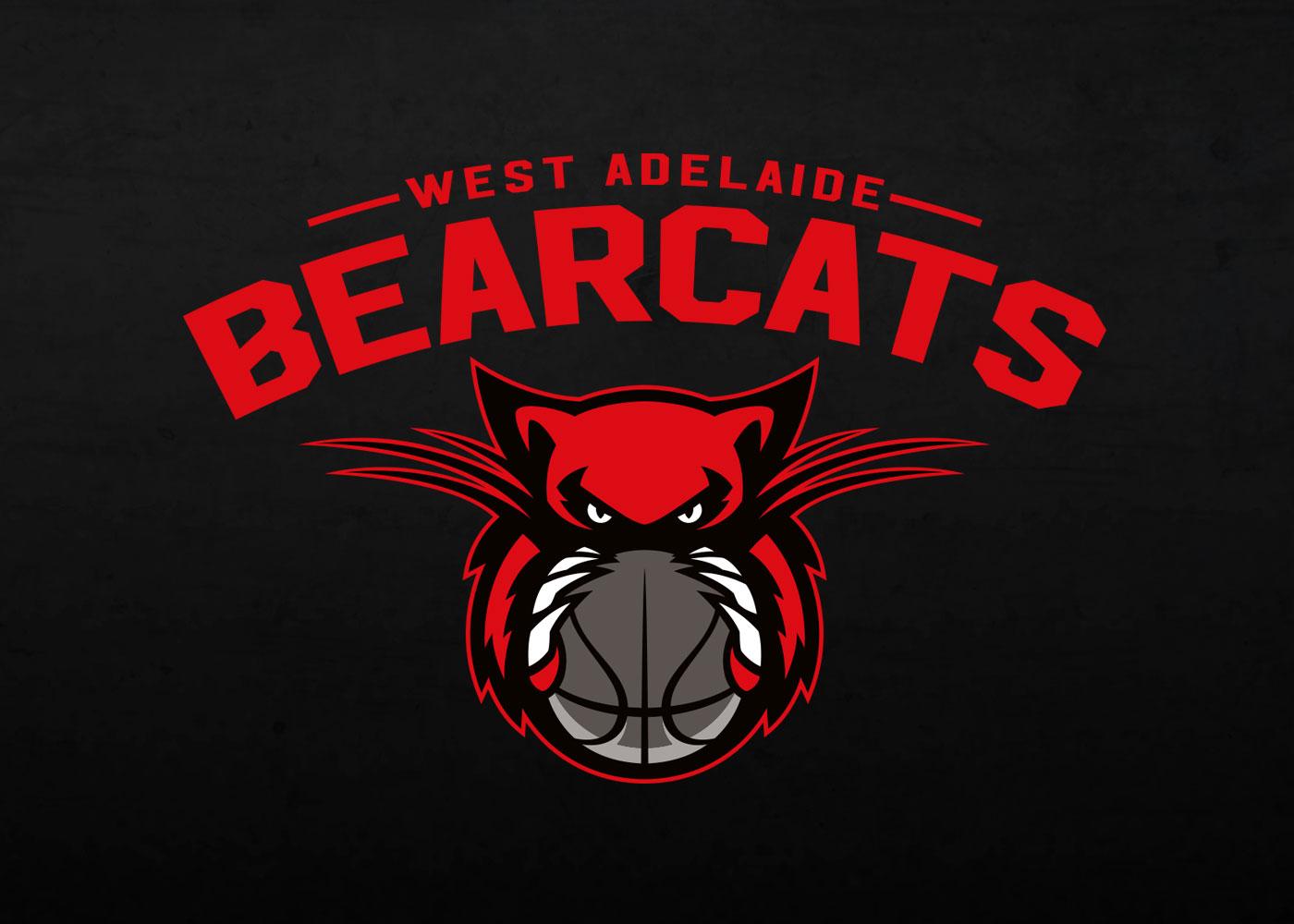 West Adelaide Bearcats - reverse logo