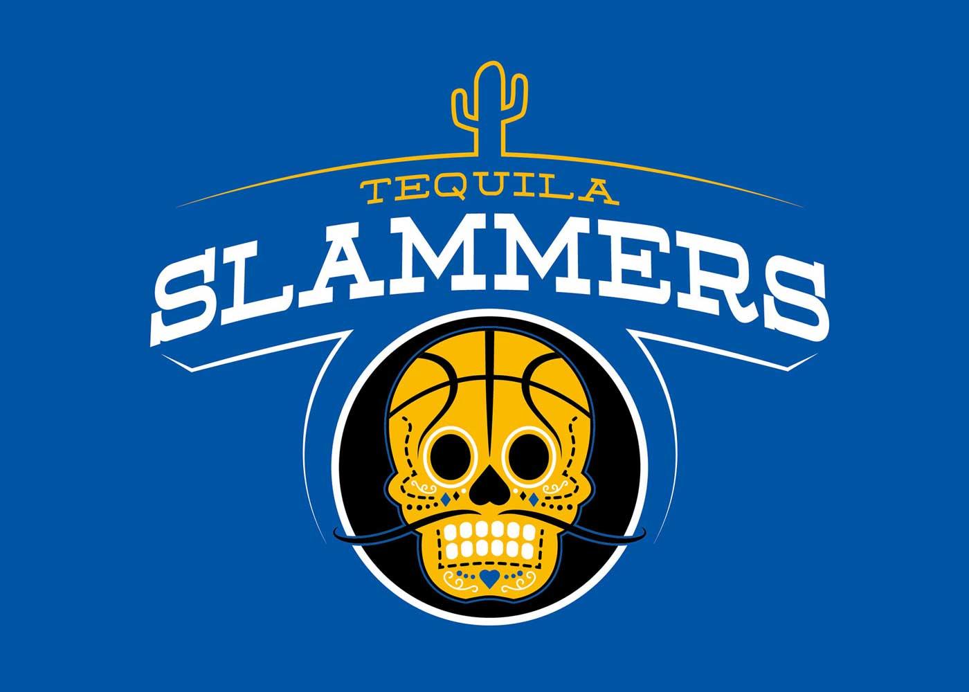 Tequila Slammers social basketball team logo